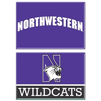 2 x 3 Wincraft NCAA Northwestern WCR06215013 Rectangle Magnet 2 Pack