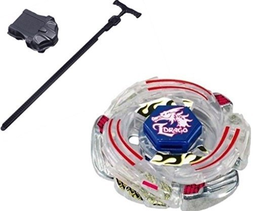 Drago Costumes (Lightning L-Drago Metal Fusion 4D Beyblade STARTER SET w/ Launcher & Ripcord+fabric bag Beyblade put by Rapidity)