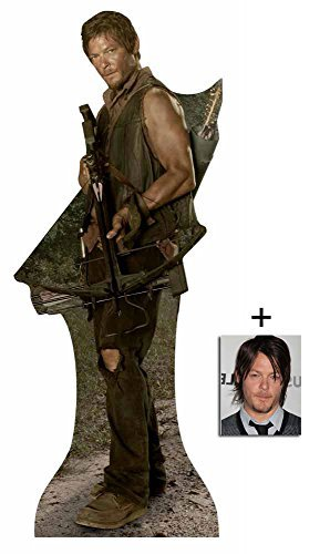 Fan Pack - Daryl Dixon (Norman Reedus) The Walking Dead New 2015 Lifesize Cardboard 2D Standup / Cutout Plus 20x25cm Photo by BundleZ-4-FanZ Fan Packs by Starstills by BundleZ-4-FanZ Fan Packs by Starstills