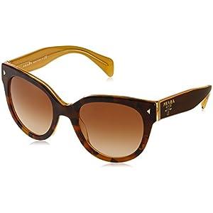 Prada SPR 17O Brown FAL-1Z1 Sunglasses - 54mm
