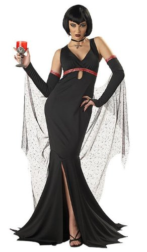 [Immortal Seductress Costume - Small - Dress Size 6-8] (Red Vampiress Adult Costumes)