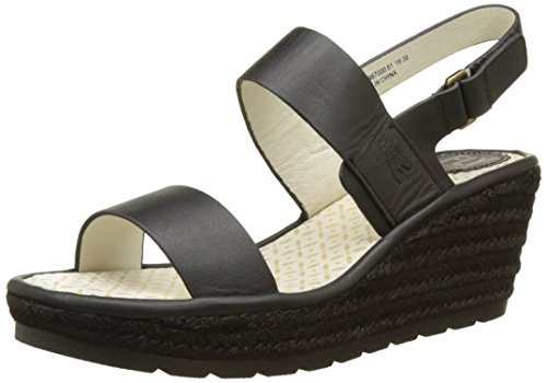 Fly London Ladies Ekan967fly Sandali Neri (nero 000)