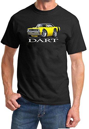 1969 Dodge Dart Full Color Design TshirtXL Black