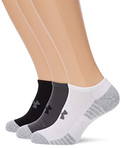 746b21d43 Under Armour Heatgear Tech Noshow 3Pk Unisex Socks: Amazon.co.uk: Clothing