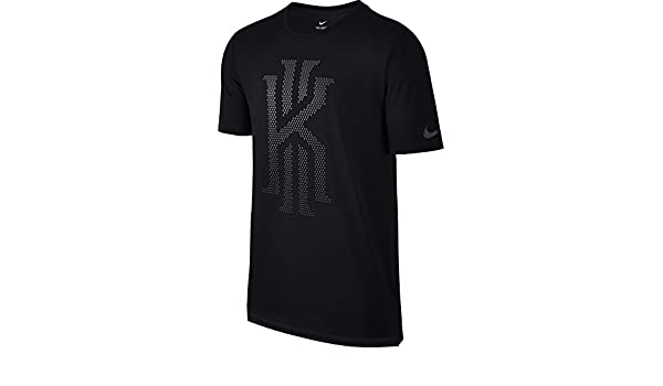 Amazon.com: Nike Mens DRI-FIT Kyrie Irving Diamond Polka Dot Athletic Cut T-Shirt Black - Medium: Sports & Outdoors