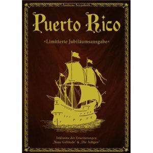 Rio Grande Games Puerto Rico 10th Anniversary Edition