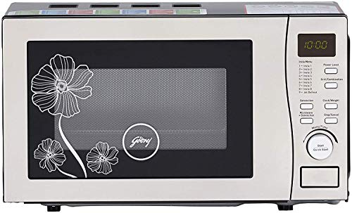 Godrej 20 L Convection Microwave Oven (GMX 20 CA6 PLZ White Lily, White Lily)