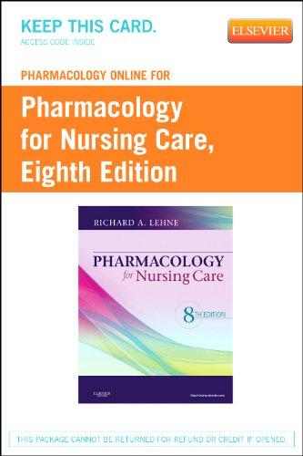 Books : Pharmacology Online for Pharmacology for Nursing Care (Retail Access Card)