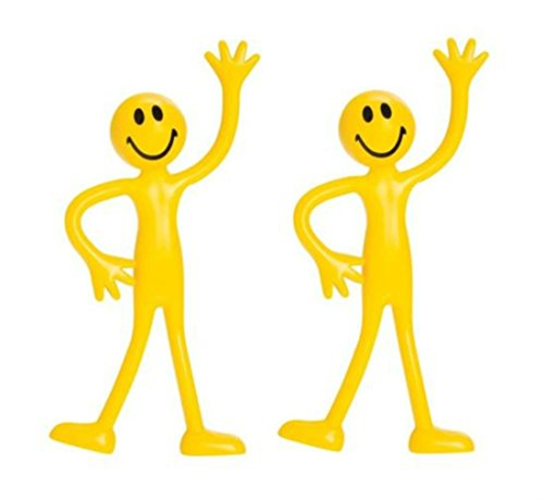 Unbranded* Bendy Man Smiley Bendable Fidget Stress Relief Toy for Kids from Unbranded*