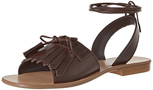 Pennyblack Secolo - Zapatos de Tacón de Punta Cerrada Mujer Marrone (Marrone Scuro)