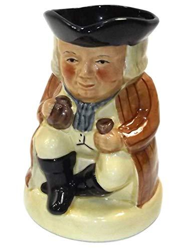 (Vintage Tony Wood Figural Toby Mug Staffordshire Character Mug)