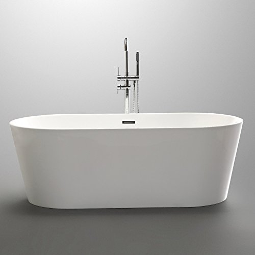 KIVA RHYME Freestanding Bathtub (HS-EGG PLUS MINI)