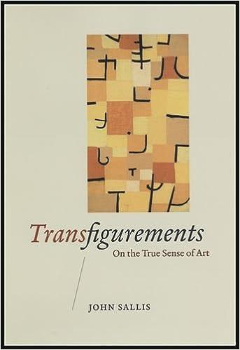 Ebook gratuit pdf torrent download Transfigurements: On the True Sense of Art PDB by John Sallis