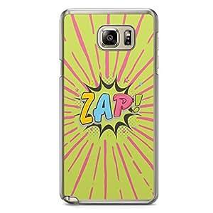 Zap Samsung Note 5 Transparent Edge Case - Comic Collection