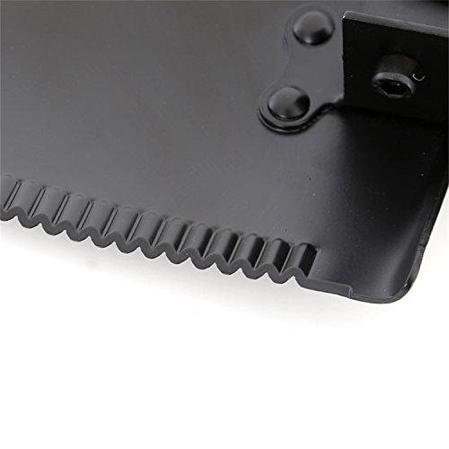 Smittybilt 2728 Matte Black Tri Fold Shovel R.U.T. Recovery Utility Tool