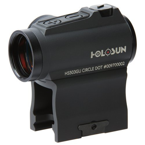 HoloSun HS503GU Circle Dot Sight (Black Housing) 2 MOA Dot & 65 MOA Circle by HOLOSUN