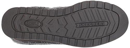 Keepsakes Skechers Slip Women's BOBS Charcoal High on Slipper Exx1Fq