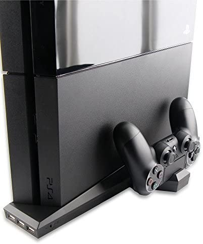 TNTi?SuperCharger - Playstation 4 Intercooler and Controller Charging Stand with AC adapter by TNT interactive: Amazon.es: Videojuegos