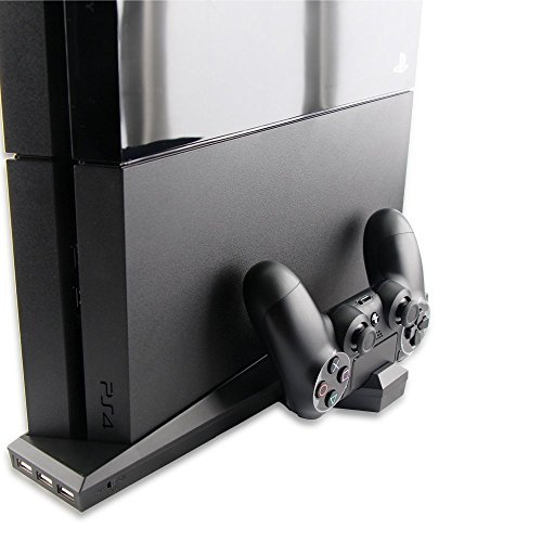 TNTi™ SuperCharger - Playstation 4 Intercooler and Controller Charging Stand with AC adapter
