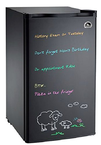 Igloo Dry Erase Board Refrigerator Mini Fridge Write On   Erase  Black