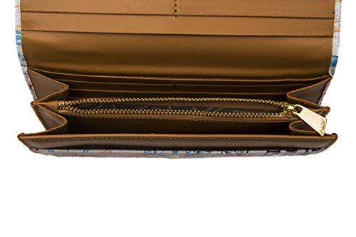 Martini Woman Donna Leather Wallet Cuoio Portafoglio White Alviero Bianco Rf4wI