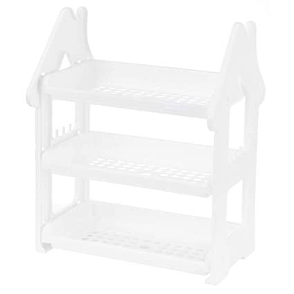 Swell Amazon Com Vosarea 3 Shelf Shelving Unit Kitchen Bathroom Download Free Architecture Designs Scobabritishbridgeorg