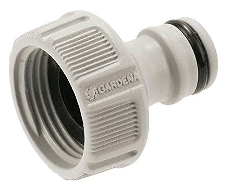 einfache Handhabung GARDENA Hahnverbinder 26.5 mm verpackt 18201-20 wasserdichte Verbindung : Anschluss f/ür Wasserh/ähne mit Gewinde G 3//4