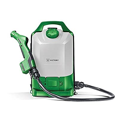 Image of Cleaning Supply Dispensers Victory Innovations - Cordless Backpack Electrostatic Sprayer for Disinfectants, Pesticides, Sanitizers, Degreasers (2.25 Gal Tank)