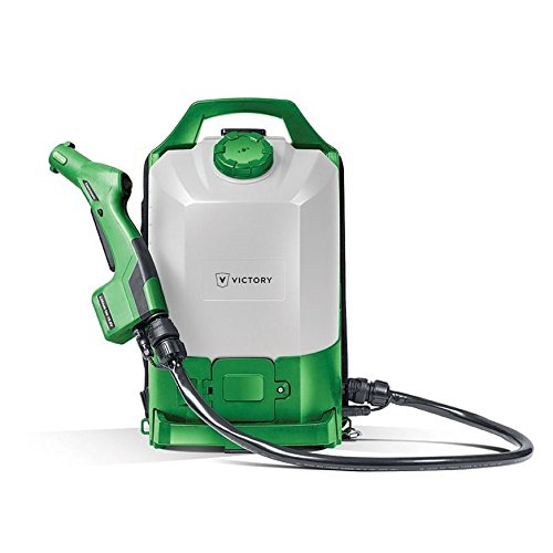 UltraSource Cordless Backpack Electrostatic Sprayer for Disinfectants, Pesticides, Sanitizers, & Degreasers (2.25 Gal Tank) by UltraSource