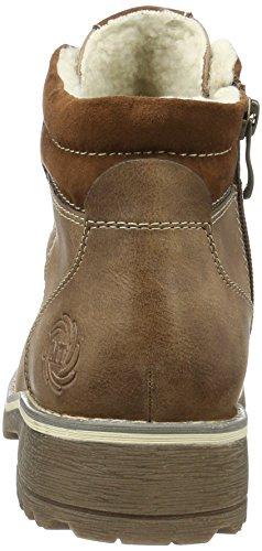 Marco Tozzi Women's 26229 Ankle Boots Brown (Cognac Ant.com 372) A4Wtf