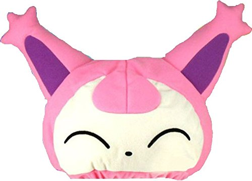Princess Monster Truck Costume (Lot of 2pcs Skitty Plush Fleece Cap Hat Cosplay)