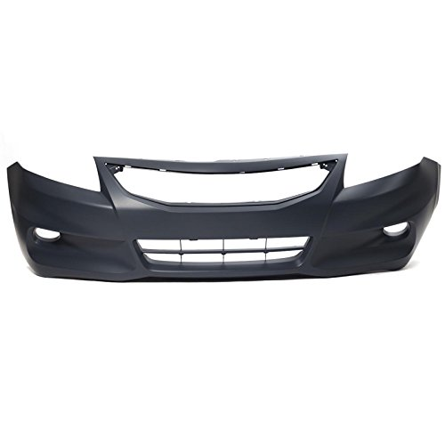 CarPartsDepot 2011-2012 Honda Accord Coupe Front Bumper Cover Facial Replacement (Honda Accord 2dr Bumper)