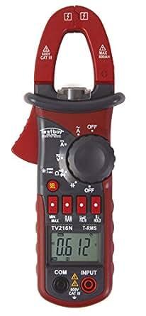 Testboy TV 216 N - Amperímetro digital de pinzas (funda incluida)