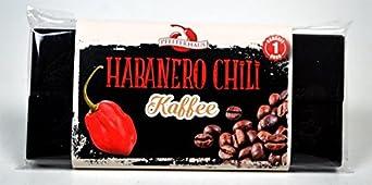 Habanero Chili Kaffee Schokolade