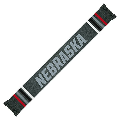 Top of the World Nebraska Cornhuskers Official NCAA Scarf Upland Knit 460062