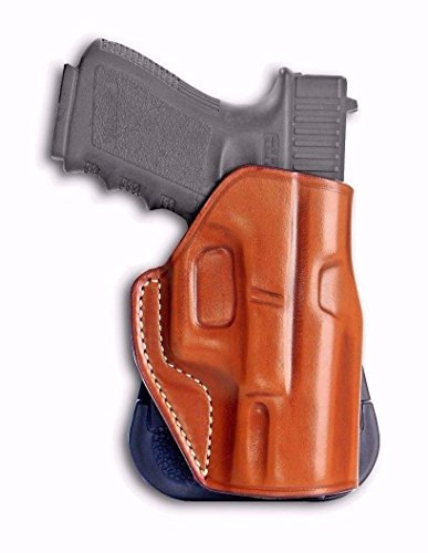 SPRINGFIELD XDS 3.3'' BARREL Leather Paddle Holster (OWB) With Open Top For Fast - Paddle Holster Angle Adjust
