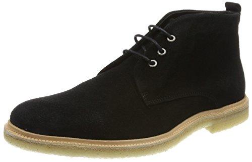 Desert Boots Midcut Cast Royal Crepe Republiq black Schwarz Suede Homme xwqYfaX4