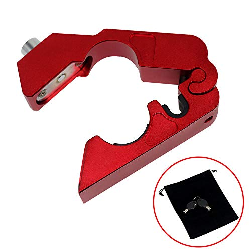 Kreatur Motorcycle Handlebar Lock Universal CNC with 2 Keys to Secure Your Motorcycle Bike ATV Moped Scooter in Under 5 Seconds