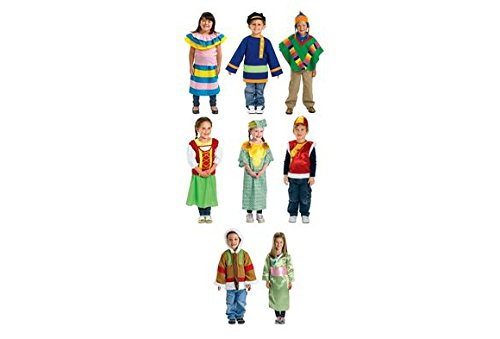 Russian Costume For Girls (Excellerations Multicultural Costumes - Set of 8 (Item # WORLDSET))