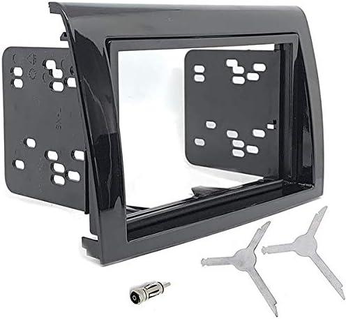 Sound Way 2 Din Radio Blende Einbau Rahmen Adapter Einbauset Kompatibel Mit Fiat Bravo 2007 2016 2ds Bravo Auto