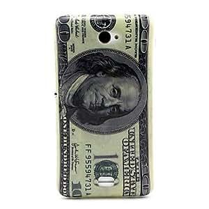 Patrón dólar TPU caso suave para Sony e4