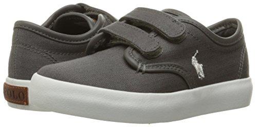 Pictures of Polo Ralph Lauren Kids Waylon Ez Sneaker Grey M 4