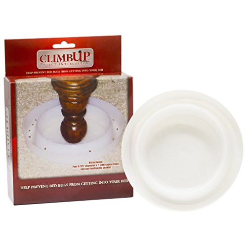 Climbup Insect Interceptor Bed Bug Trap, 4ct