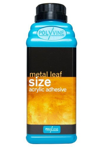 Polyvine Metal Leaf Size 16-ounce (500ml) Gold & Metal Acrylic Adhesive