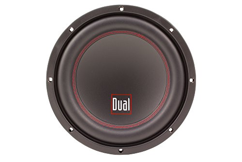 Dual Electronics DSD102D 10 inch High Performance Subwoofer with a 2 inch Single Voice Coil and 700 Watt Peak Power by Dual Electronics