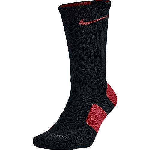 Nike Calzini Elite Basket Crew Black/Varsity Red/Varsity Red