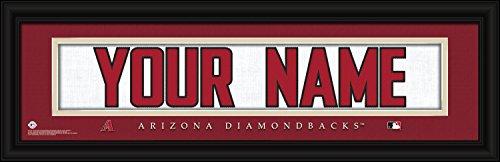 - Arizona Diamondbacks Personalized Nameplate MLB framed and customized 24