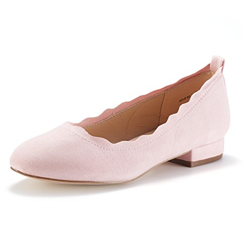 ELLE On Low Women's PAIRS Slip DREAM Shoes Sole Fashion Stacked Flats Pink CTtxqg