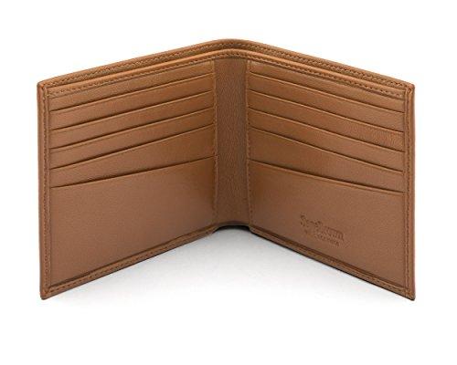 Soft Men's Men's SAGEBROWN Tan Classic Soft Billfold Wallet Billfold Classic SAGEBROWN Wallet wOEqA