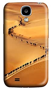 Samsung Galaxy S4 I9500 Cases & Covers - Camel Train PC Custom Soft Case Cover Protector for Samsung Galaxy S4 I9500